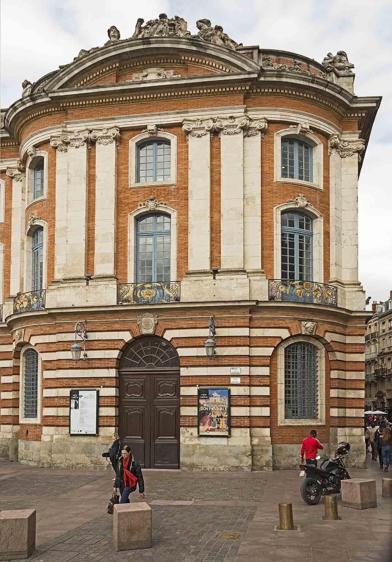 Le théâtre du Capitole de Toulouse