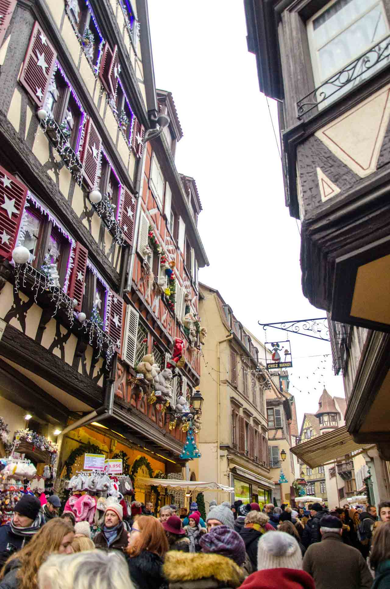 Le marché de Noël Alsacien de la gare de l'Est