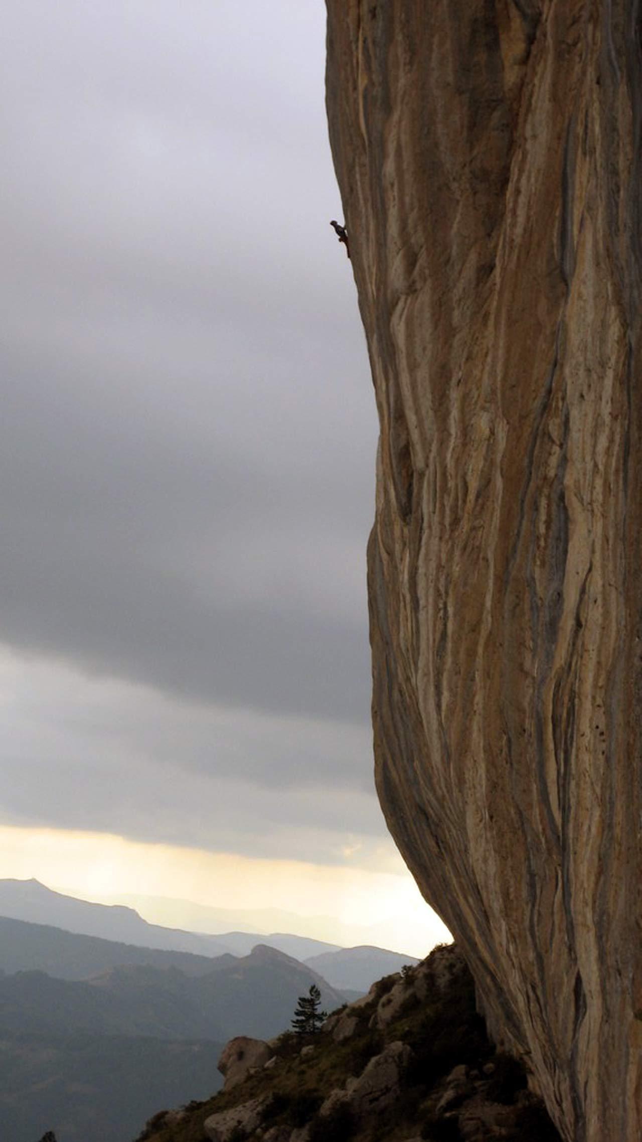 Céüse, difficulté maximale dans les Hautes-Alpes