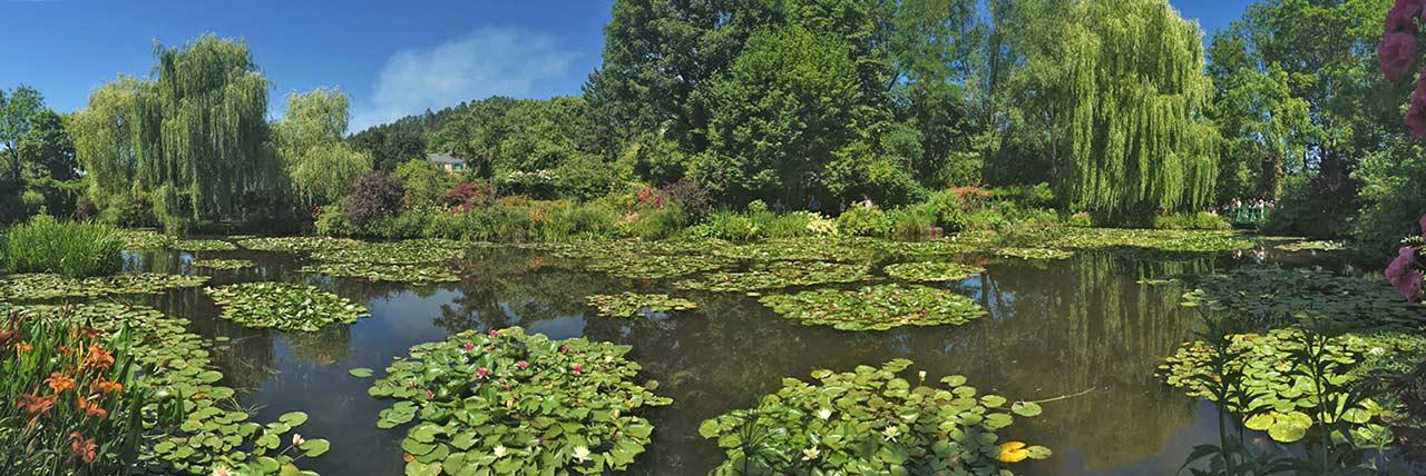 Les jardins de Claude Monet-Giverny