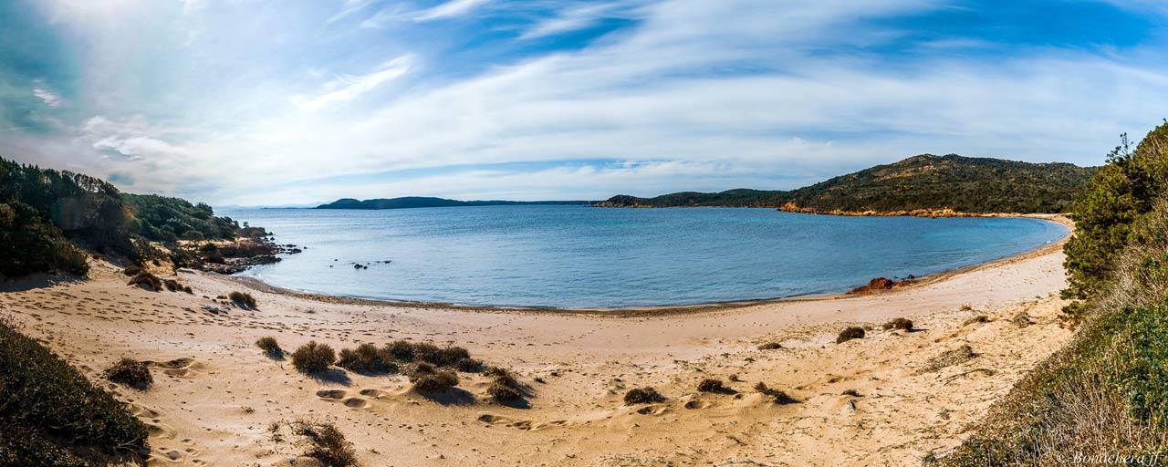 La plage de Rondinara, Bonifacio