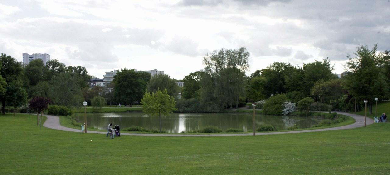 Parc Léo Lagrange à Reims