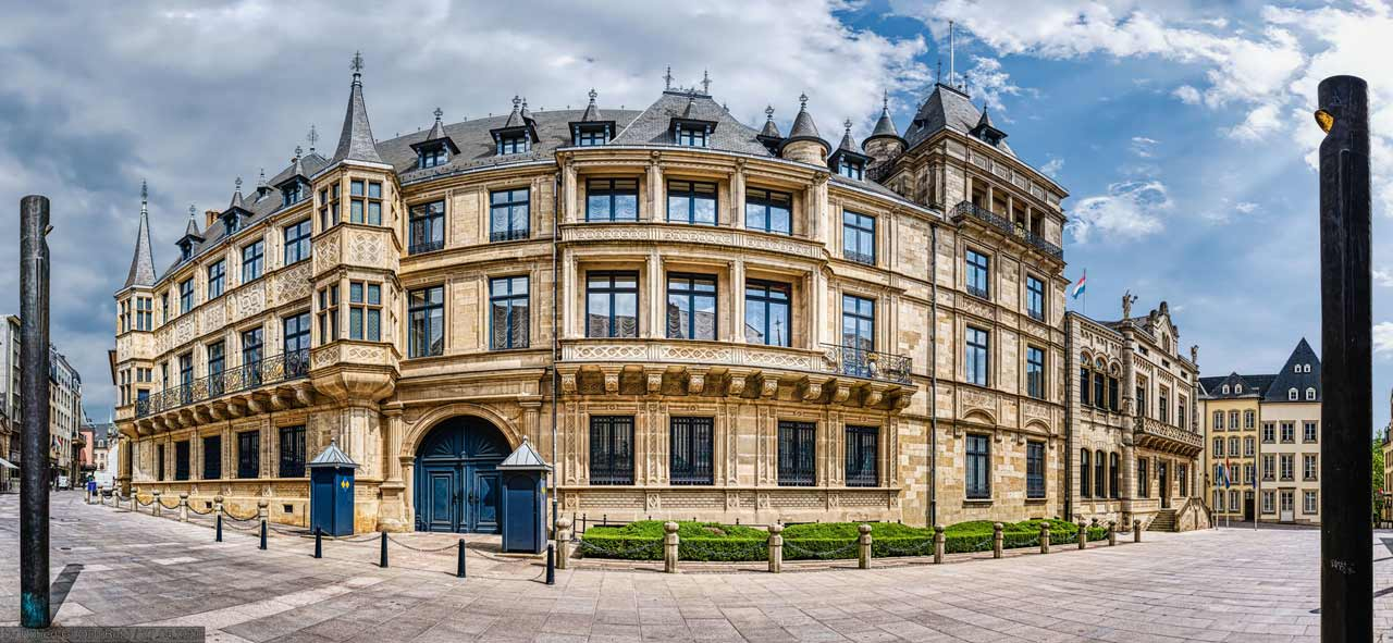 Luxembourg - Palais Grand-Ducal