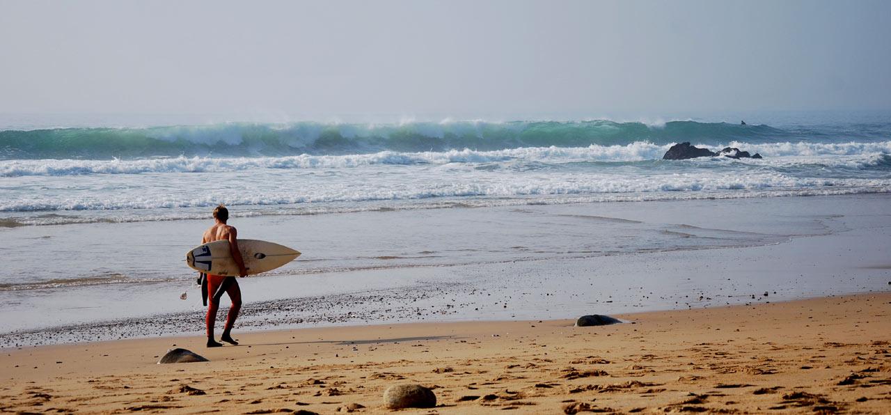 Surf en Pays de la Loire, Bretagne et Normandie