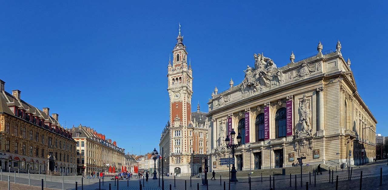 Place du Théâtre Lille
