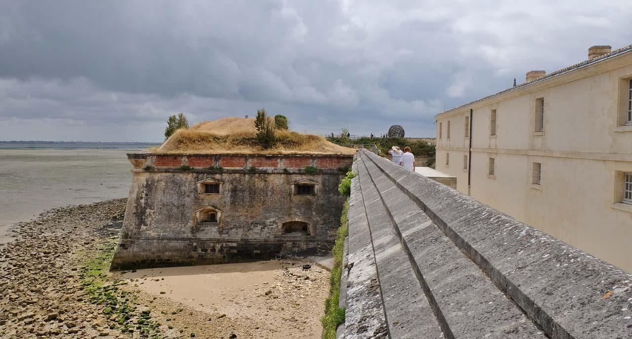 Le château et le musée d'Oléron