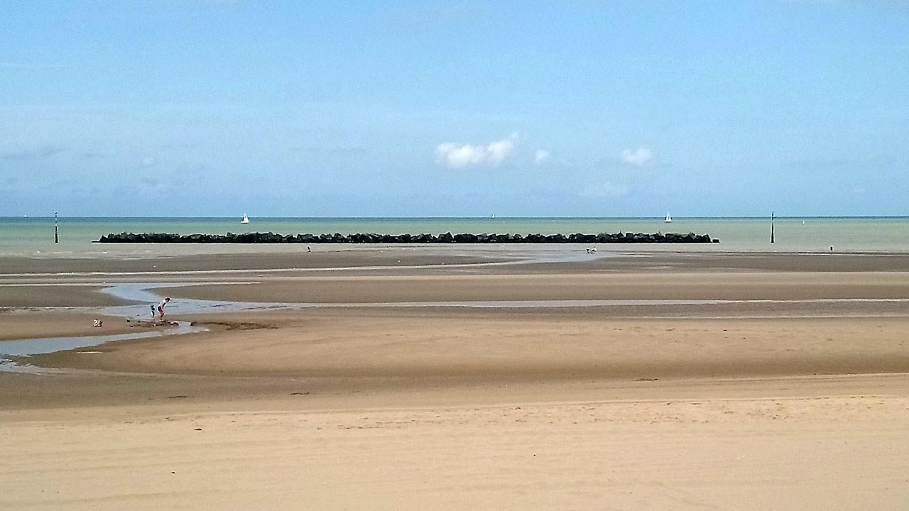 La plage de Malo-les-bains (Dunkerque)