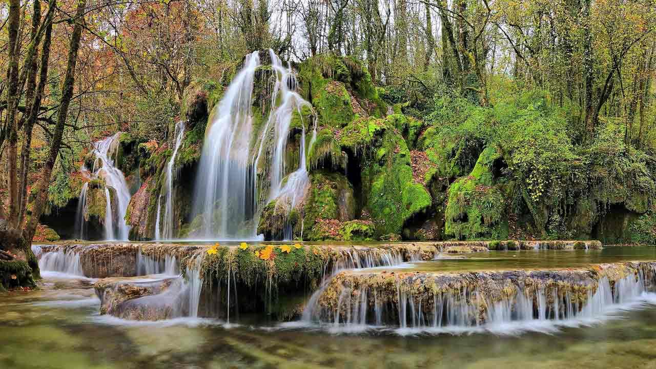 Les cascades des Tufs, Jura