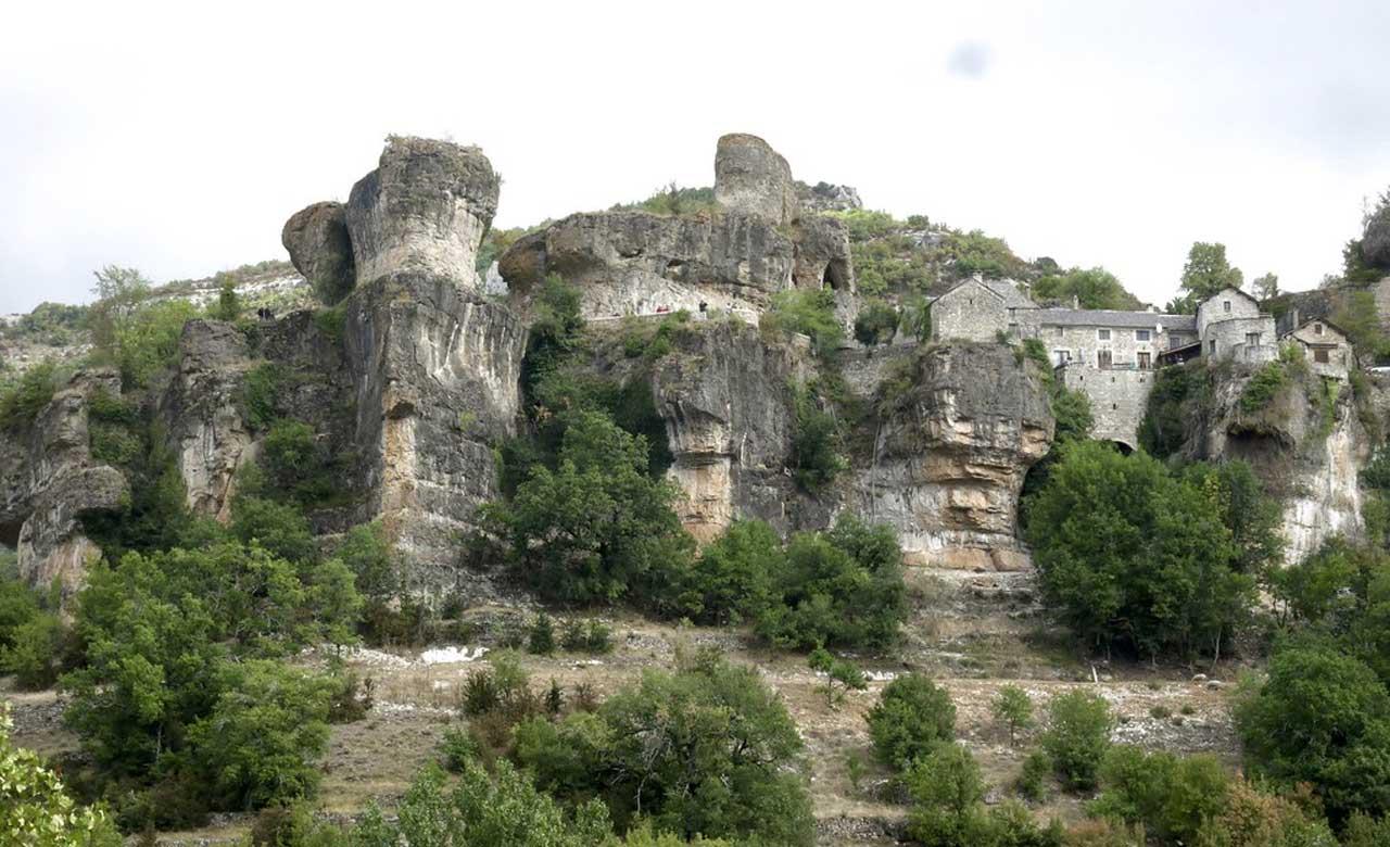 Cantobre, le joyau de l'Aveyron