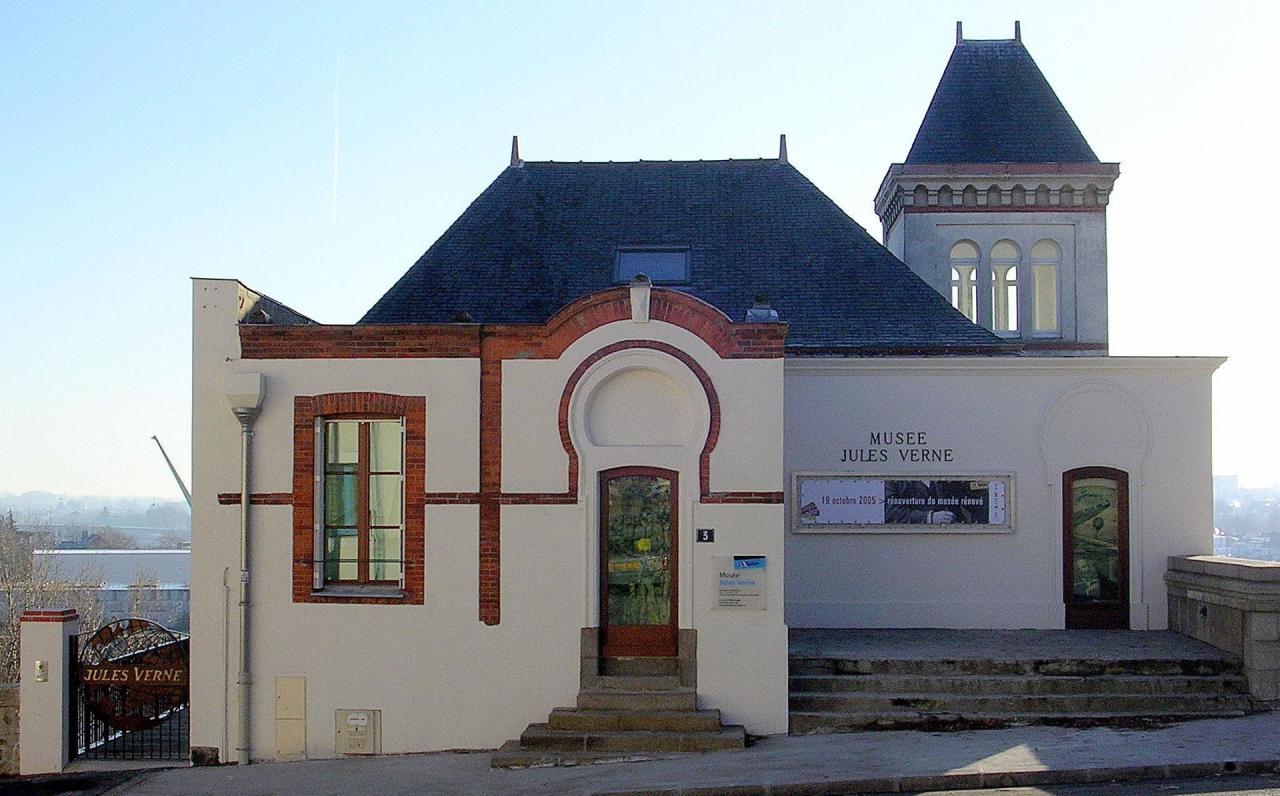 Le musée Jules Verne de Nantes