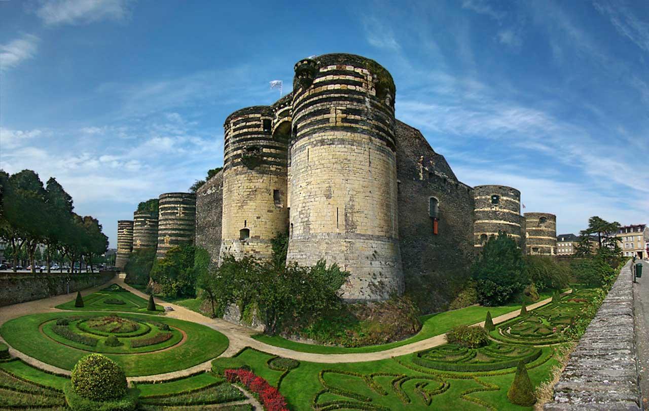 La route des châteaux de la Loire