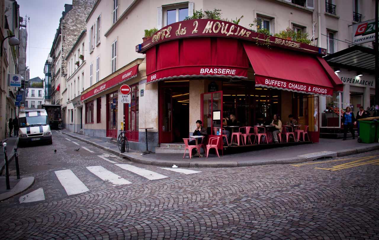 Le café des 2 Moulins