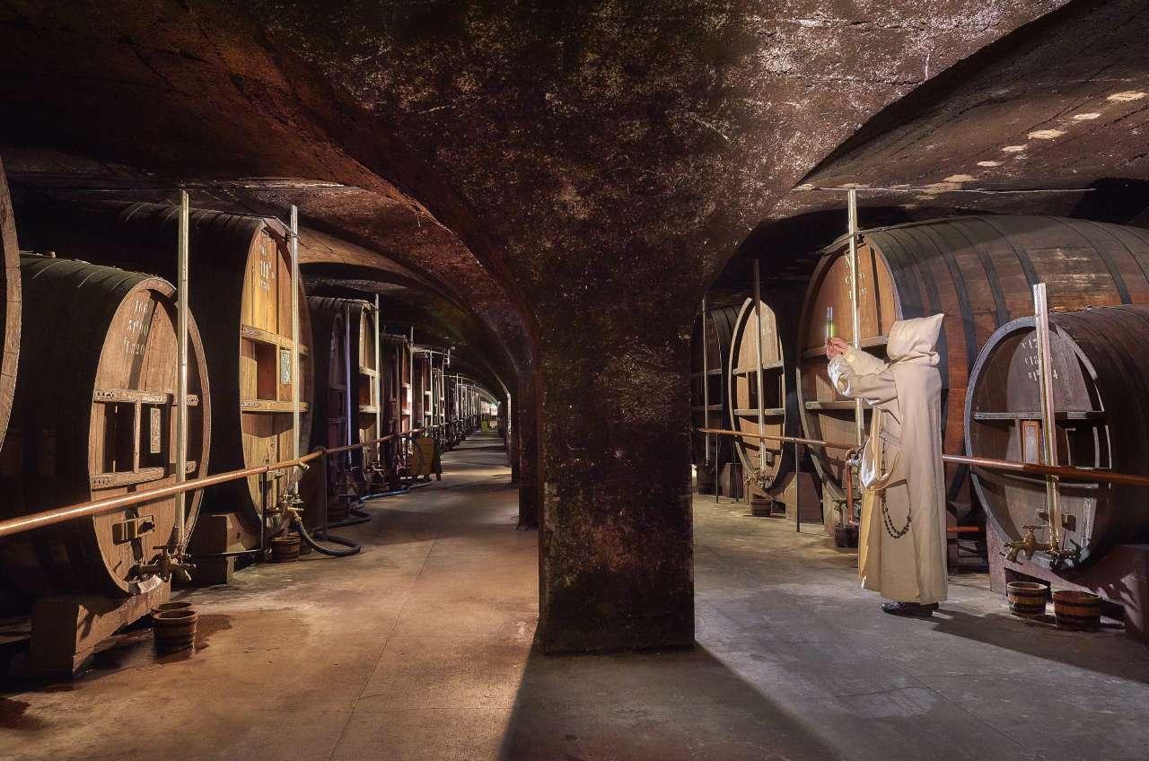 Les caves de la Chartreuse