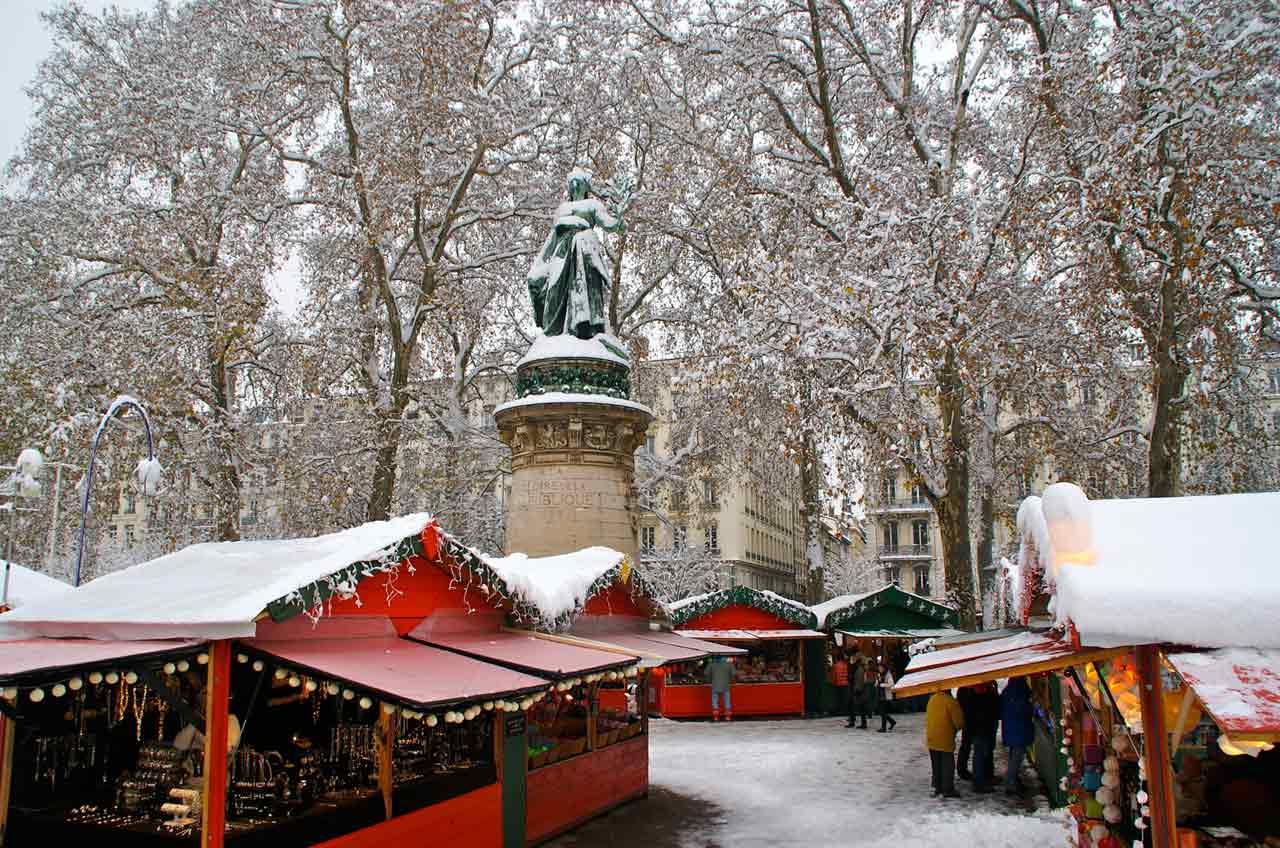 Le marché de Noël de Lyon