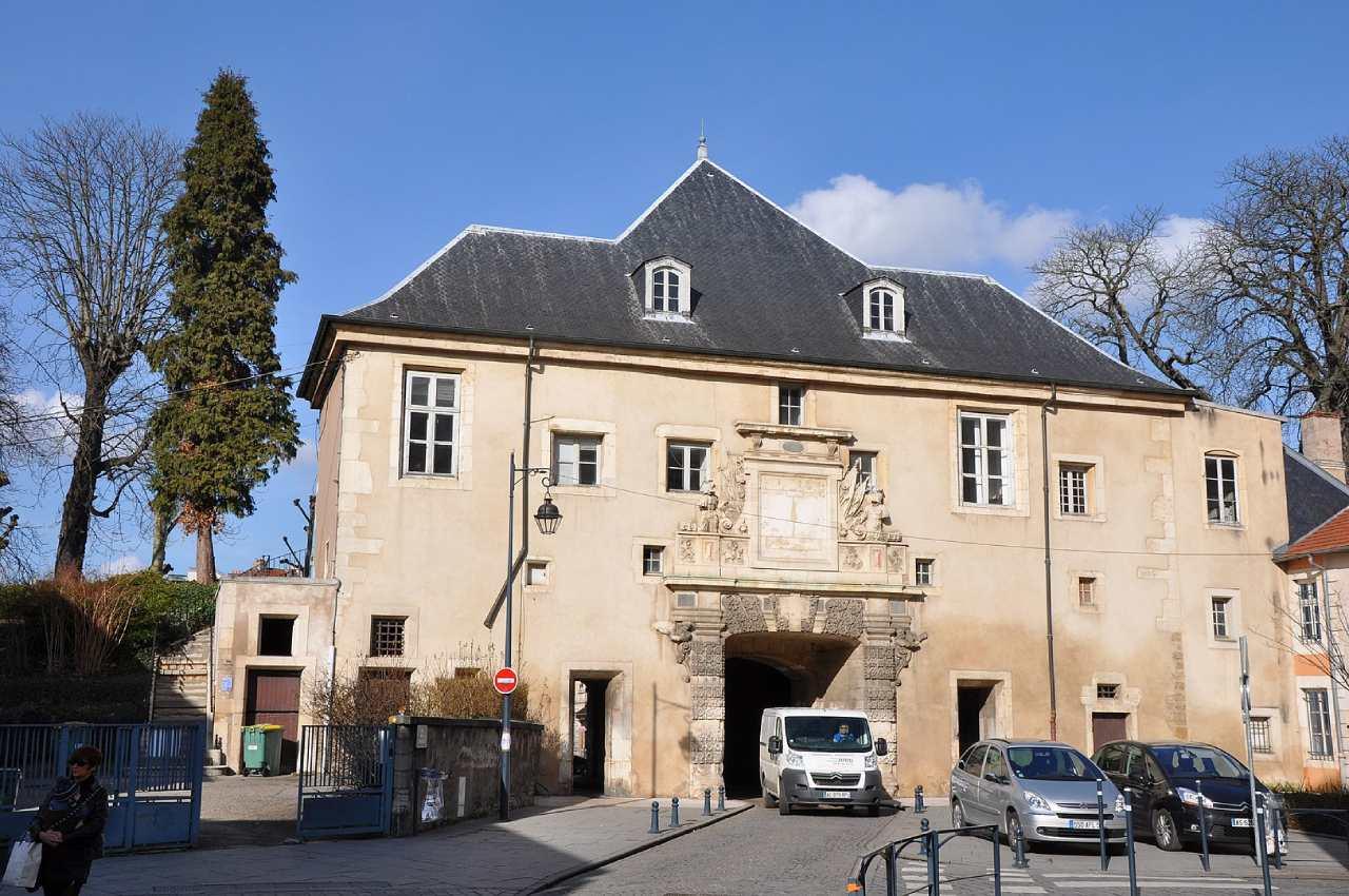 La porte de la Citadelle de Nancy