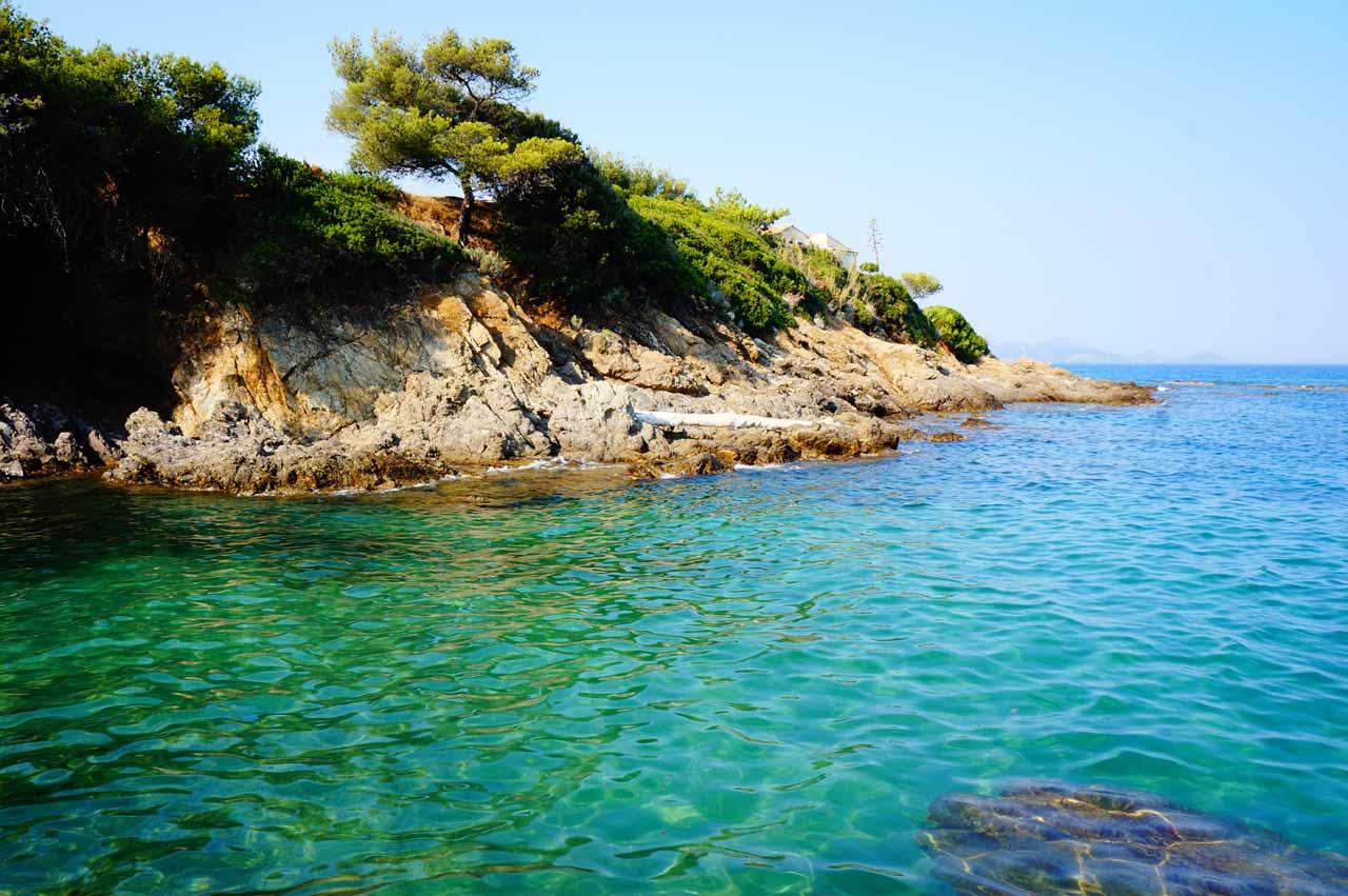 La plage des Issambres (Var)