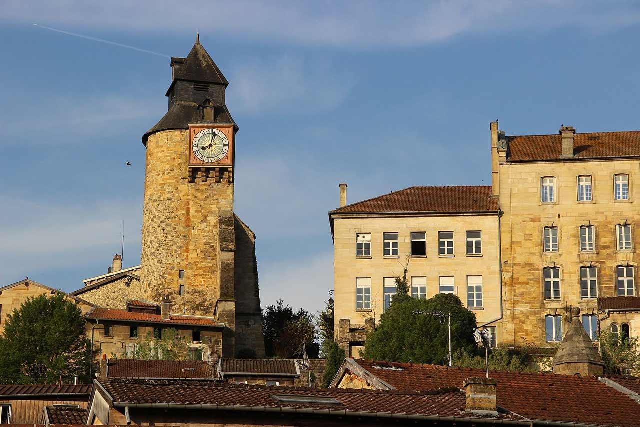 Tour de l'Horloge à Bar-le-Duc