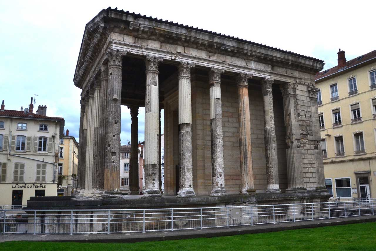 Temple d'Auguste -Vienne