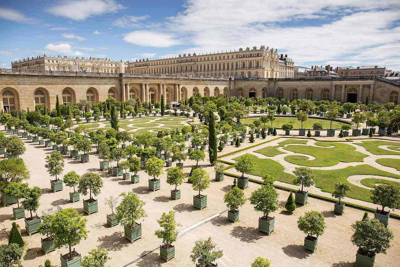 Le château de Versailles et ses jardins