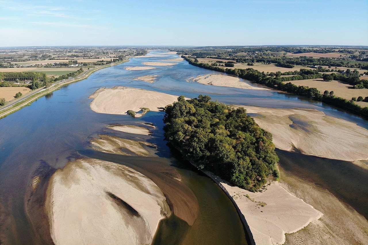 La Loire et l'Île Sorin à La Bohalle