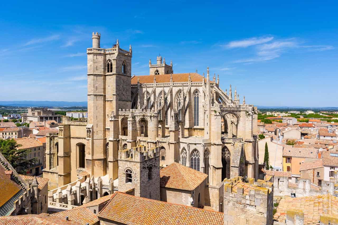 La Cathédrale Saint-Just-Saint-Pasteur