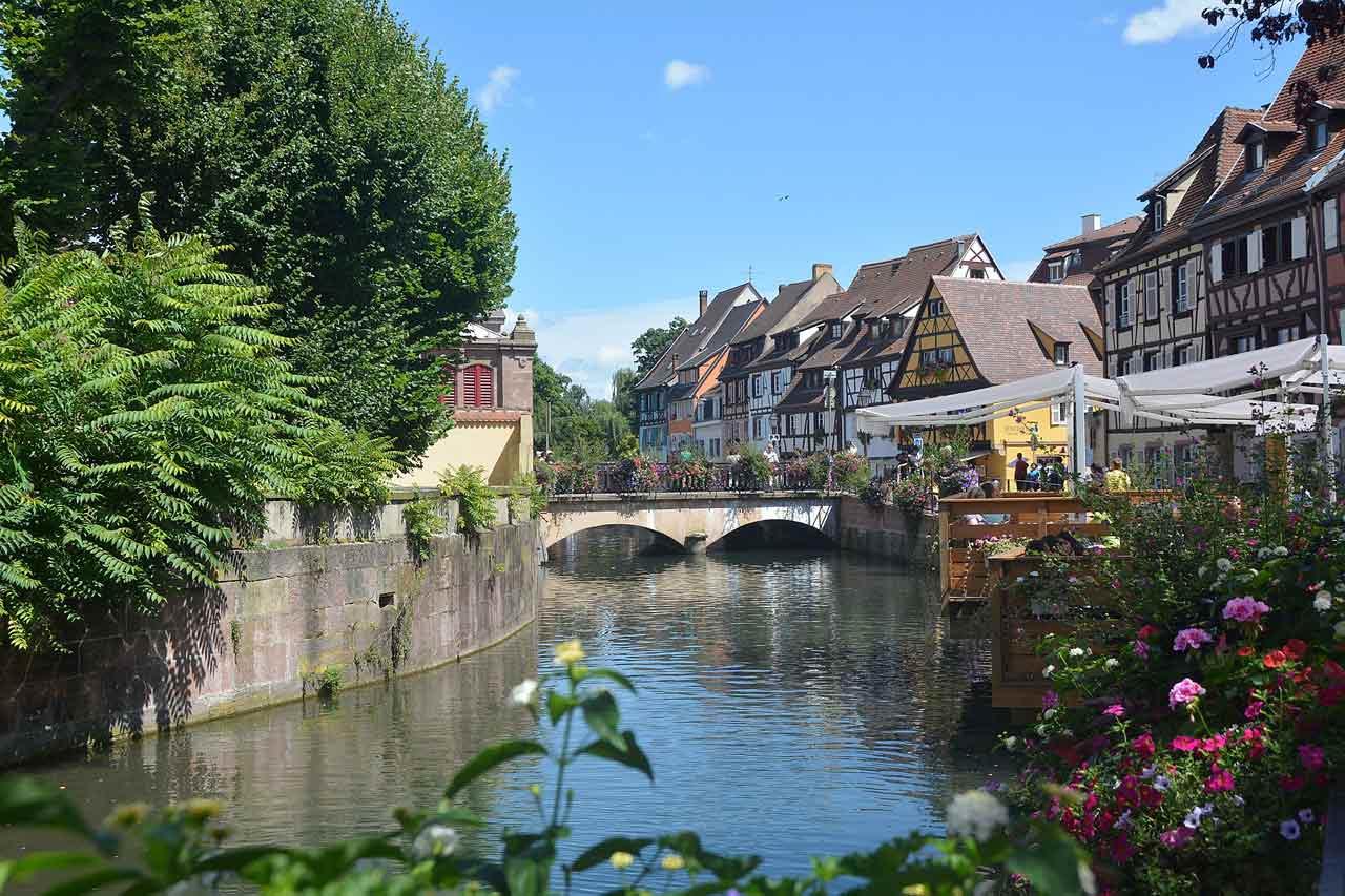La vieille ville de Colmar
