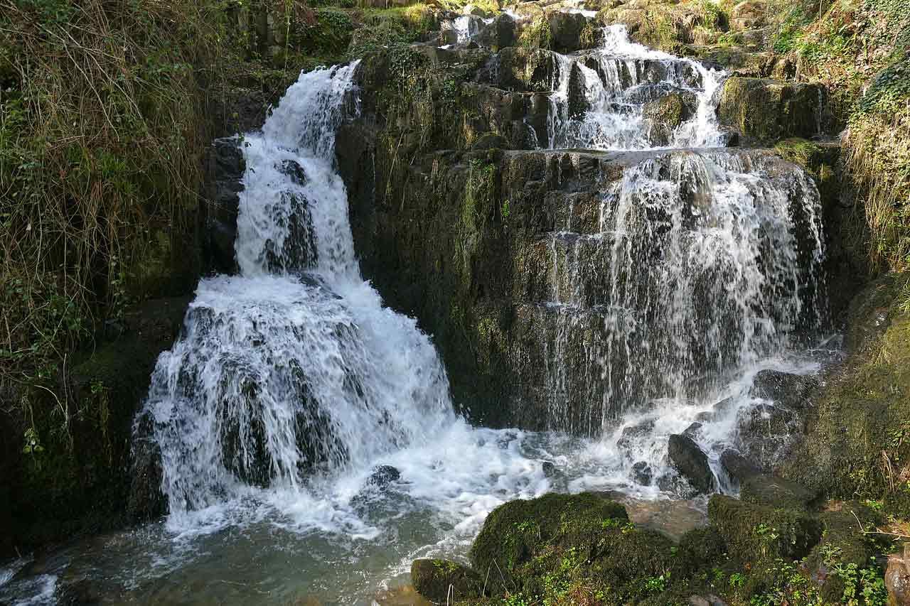 Les cascades de Mortain, Manche