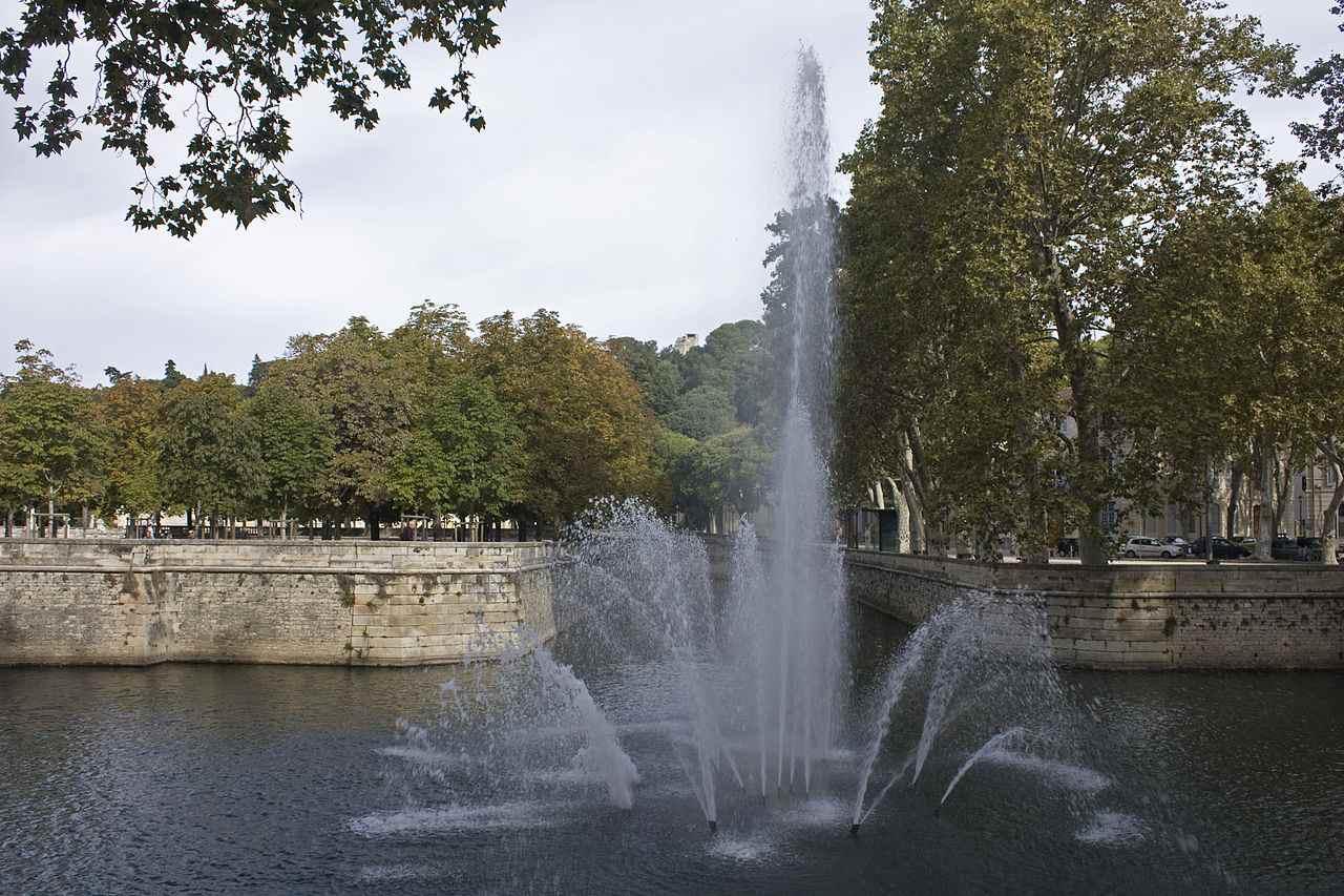 Les jardins de la Fontaine à Nimes