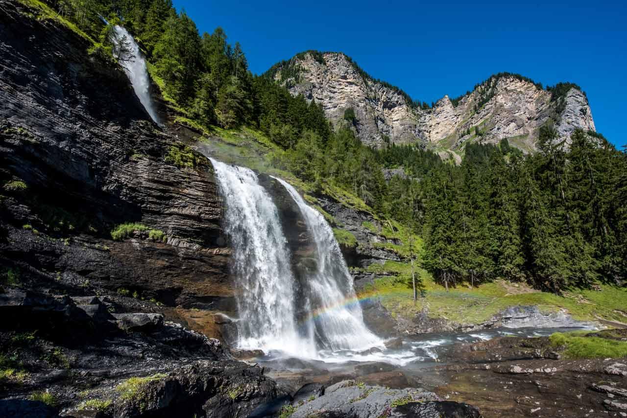 La cascade du Rouget, Haute-Savoie
