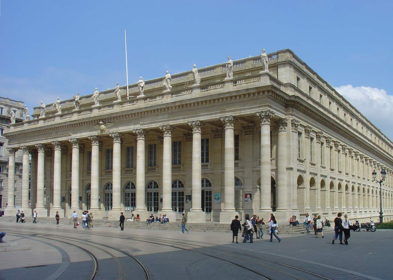 Le Grand Théâtre de Bordeaux