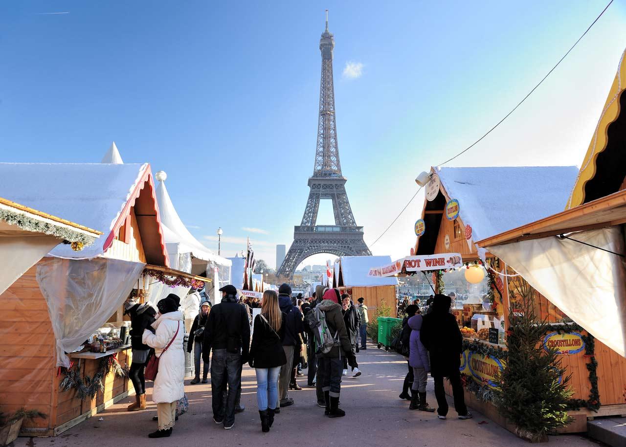 Le marché de Noël de Notre-Dame de Paris
