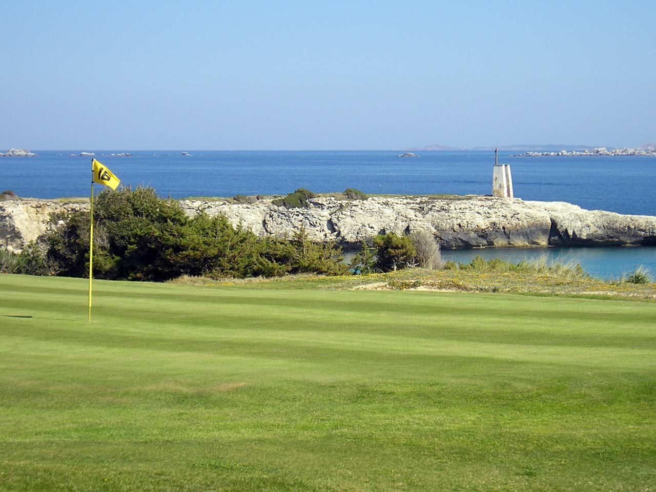 Le golf de Sperone, Corse