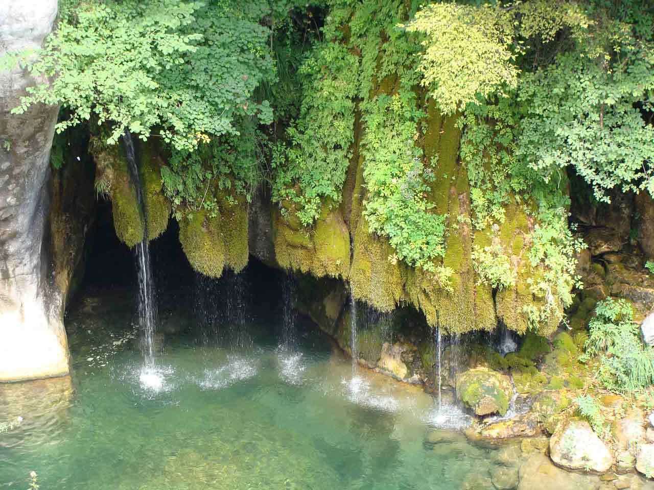 Les cascades des gorges du Loup, Alpes-Maritimes