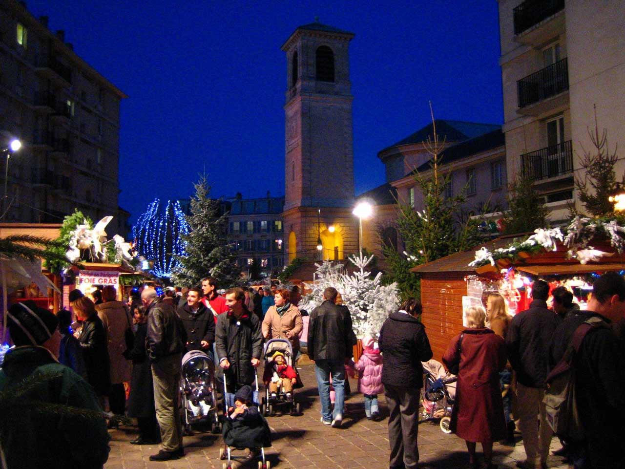 Le marché de Noël de Saint-Germain-des-Prés