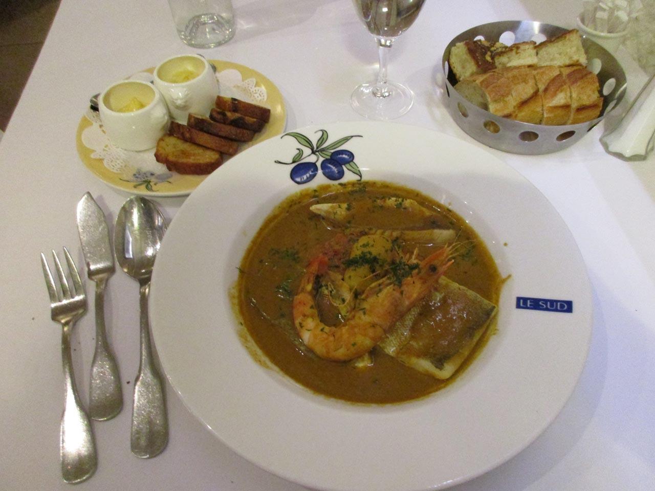 La bouillabaisse Provençale