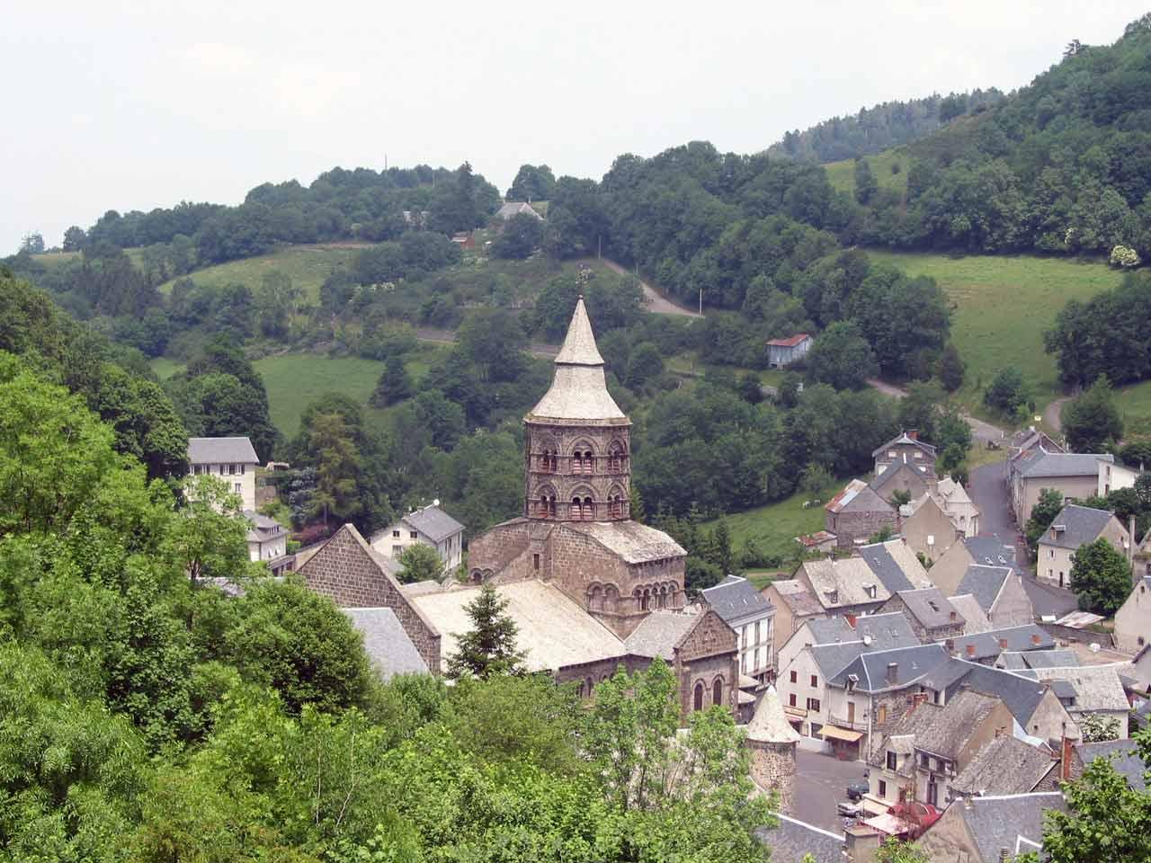 Orcival Village