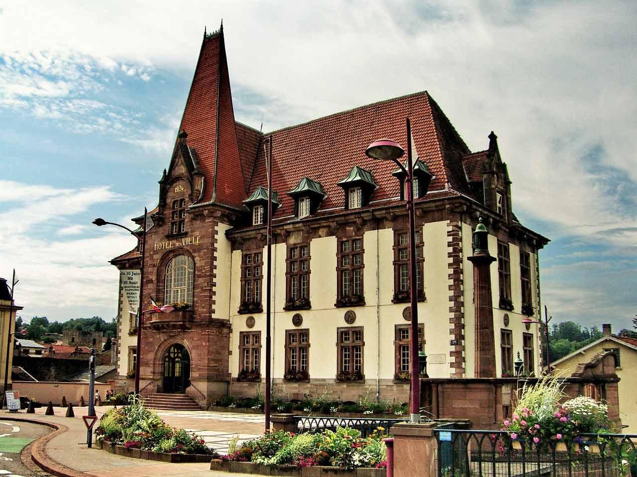Hôtel de ville de Baccarat