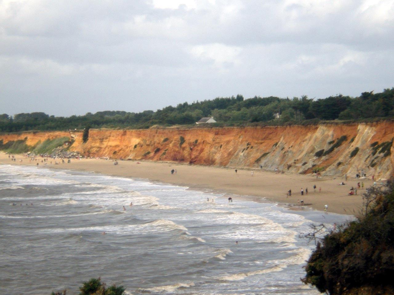 La plage de la Mine d'Or à Penestin