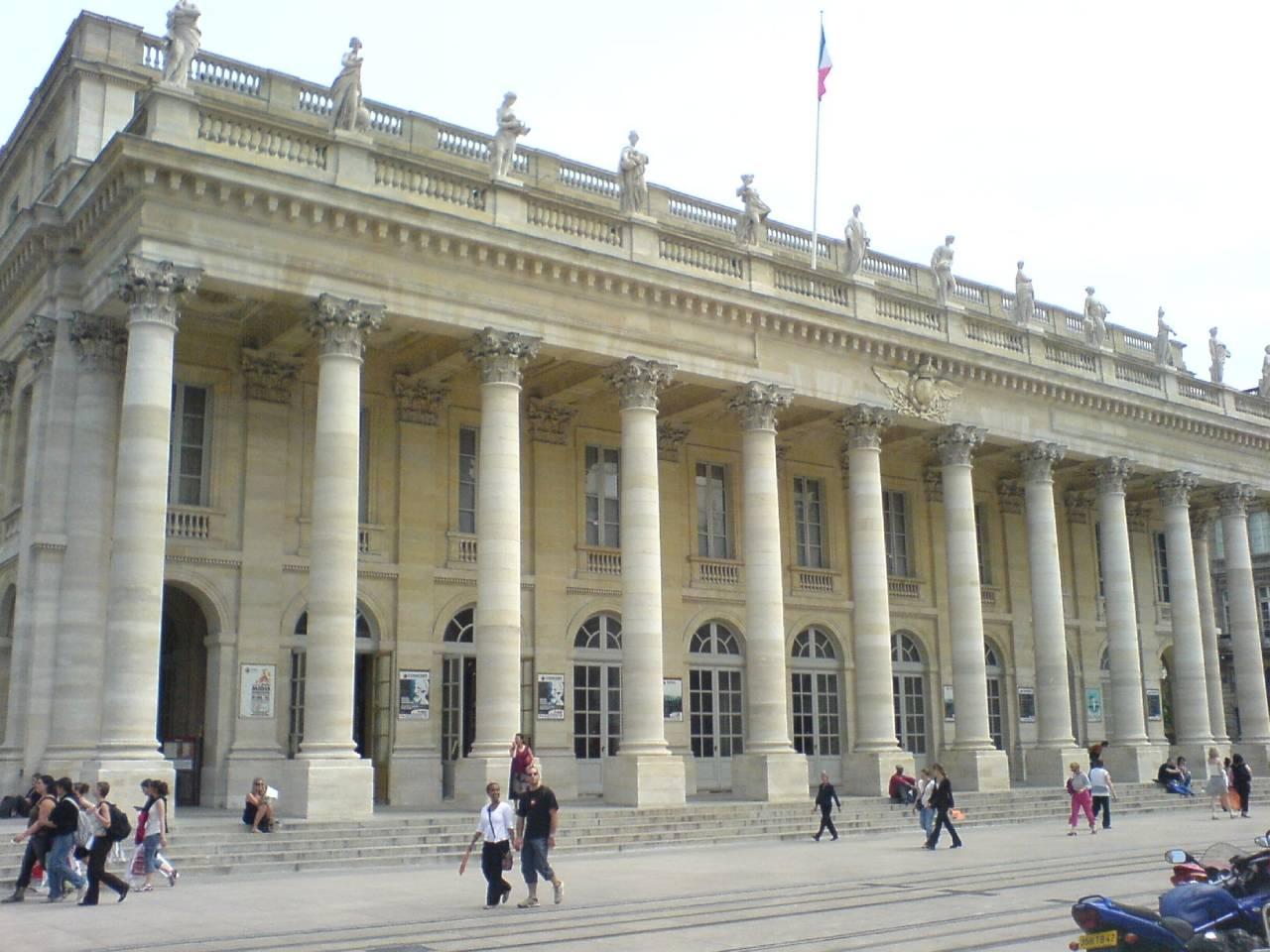 L'opéra national de Bordeaux – Le Grand Théâtre