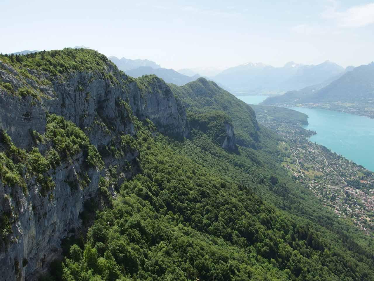 Mont Veyrier et Mont Baron