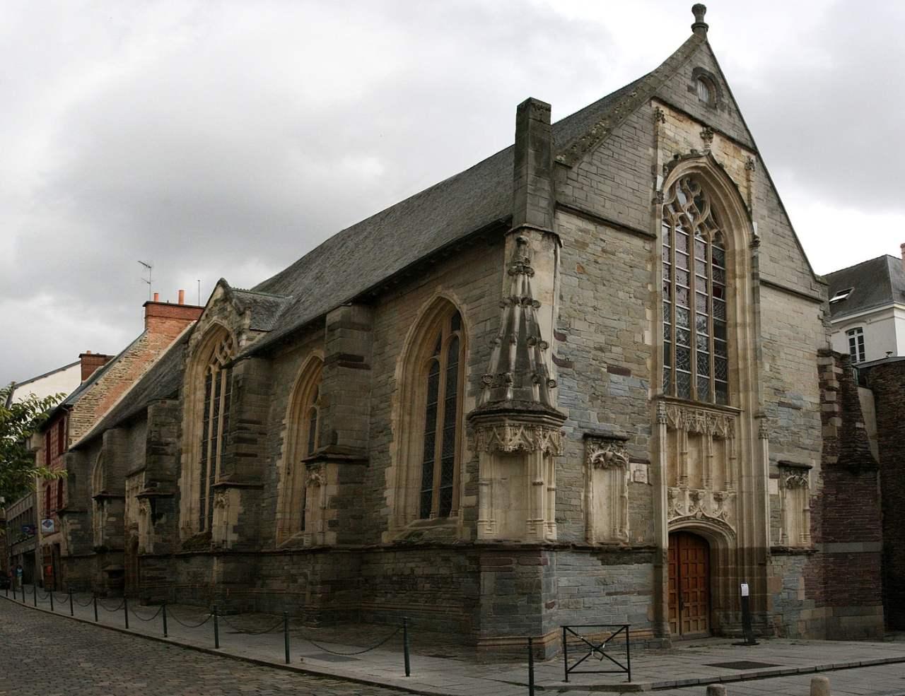 La Chapelle Saint Yves à Rennes