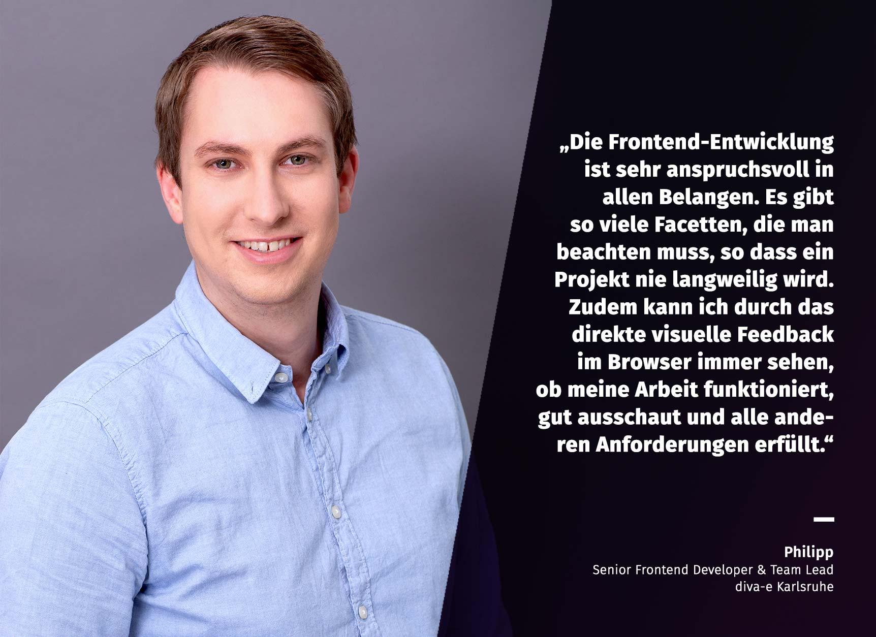 Unsere TXP-Stars stellen sich vor: Philipp, Senior Software Developer & Team Lead, Karlsruhe