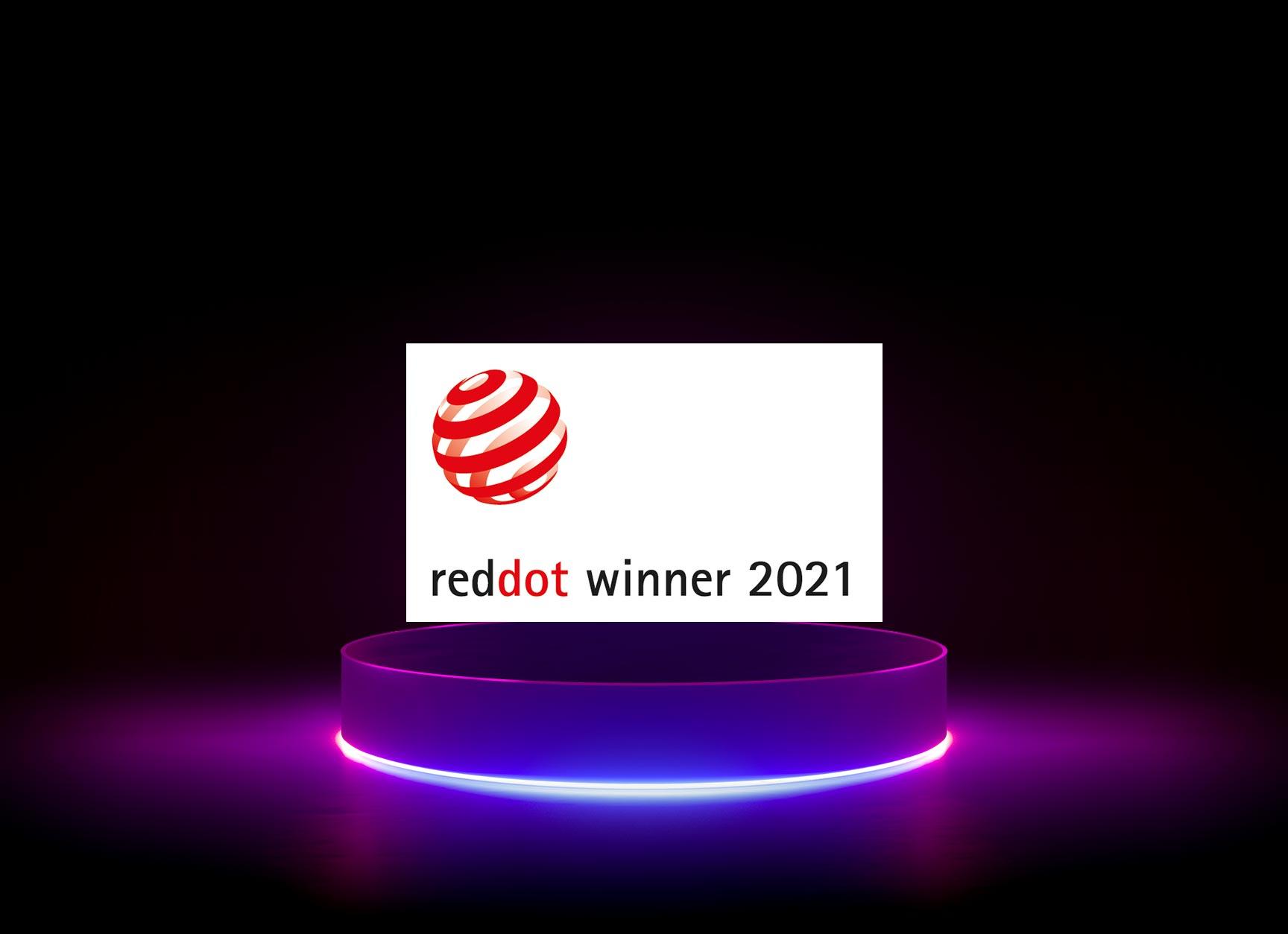 diva-e ist Red Dot Winner 2021