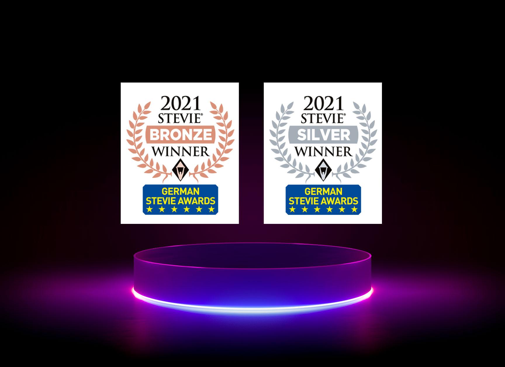 Anerkennung für exzellente HR-Arbeit: diva-e erhält eine Bronze- und eine Silberauszeichnung bei den German Stevie Awards