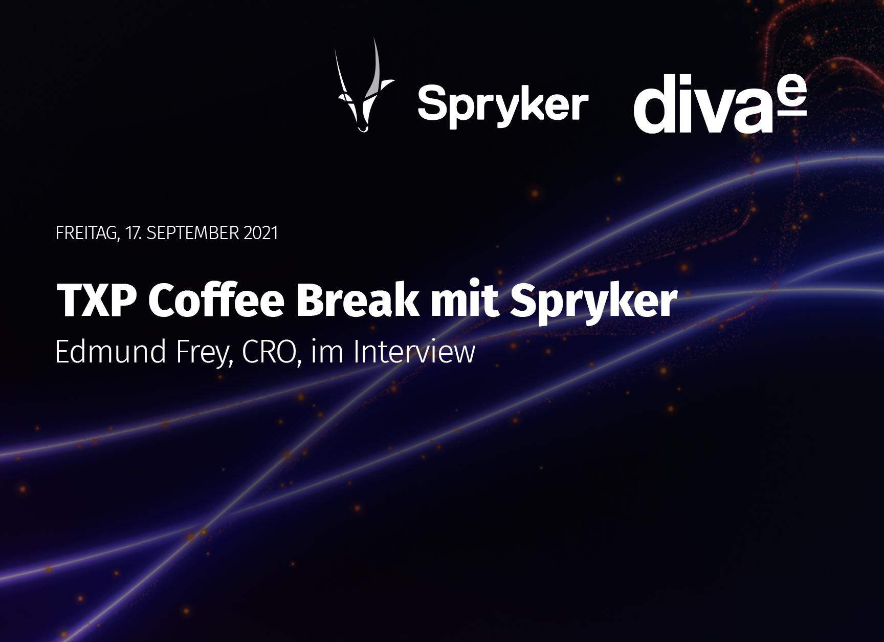 diva-e TXP Coffee Break mit Spryker
