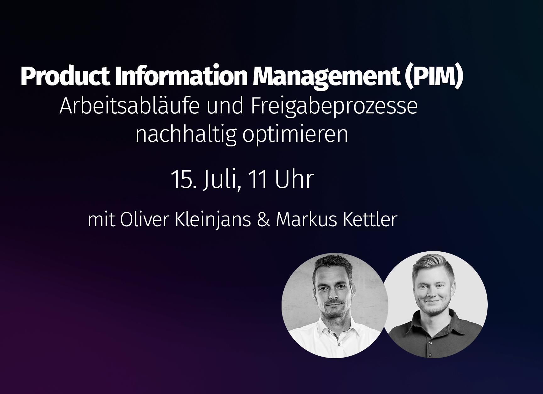 On-Demand Webinar: Workflows im Product Information Management (PIM)