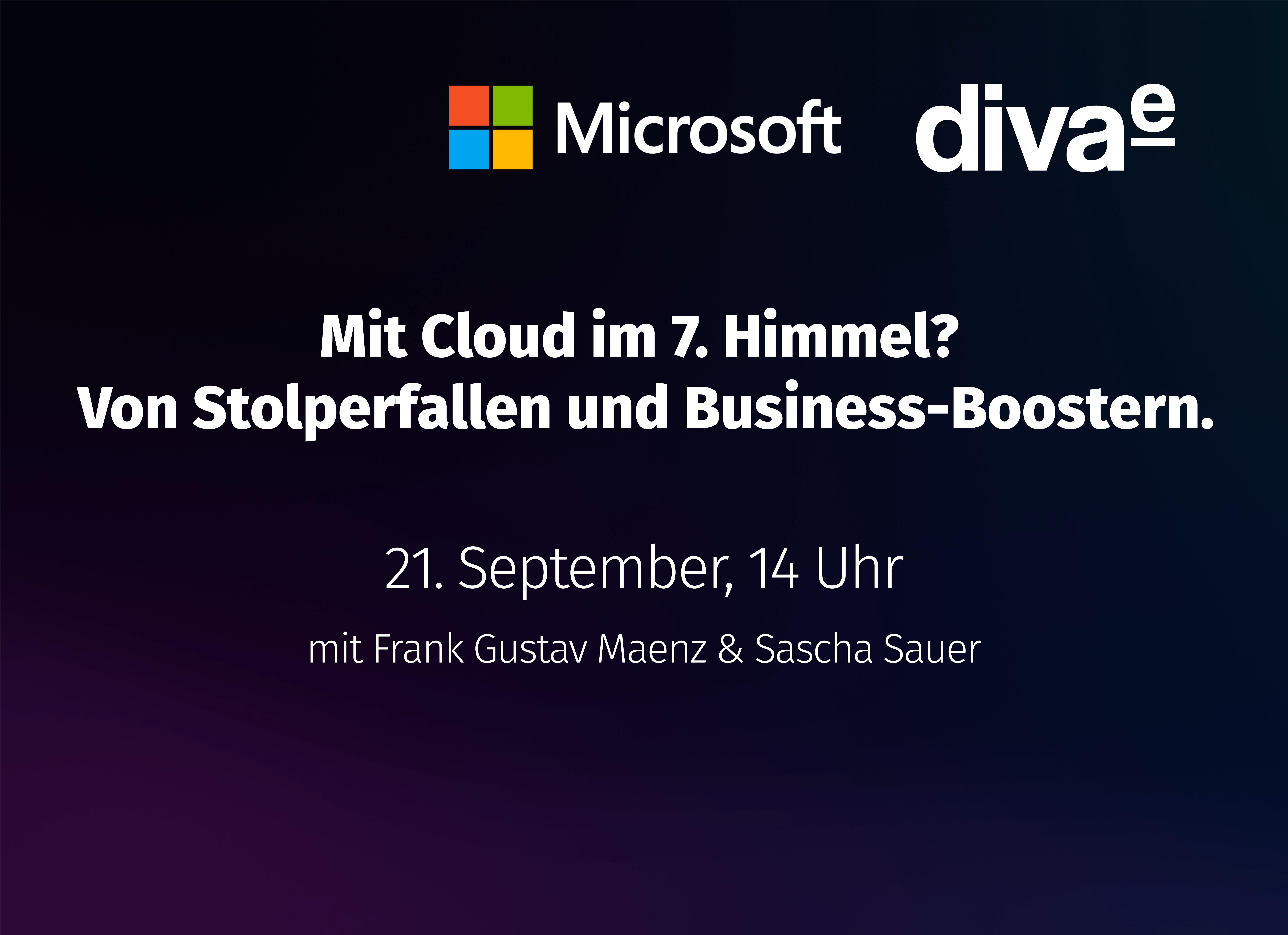 On-Demand Webinar: Mit Cloud im 7. Himmel? Von Stolperfallen und Business-Boostern