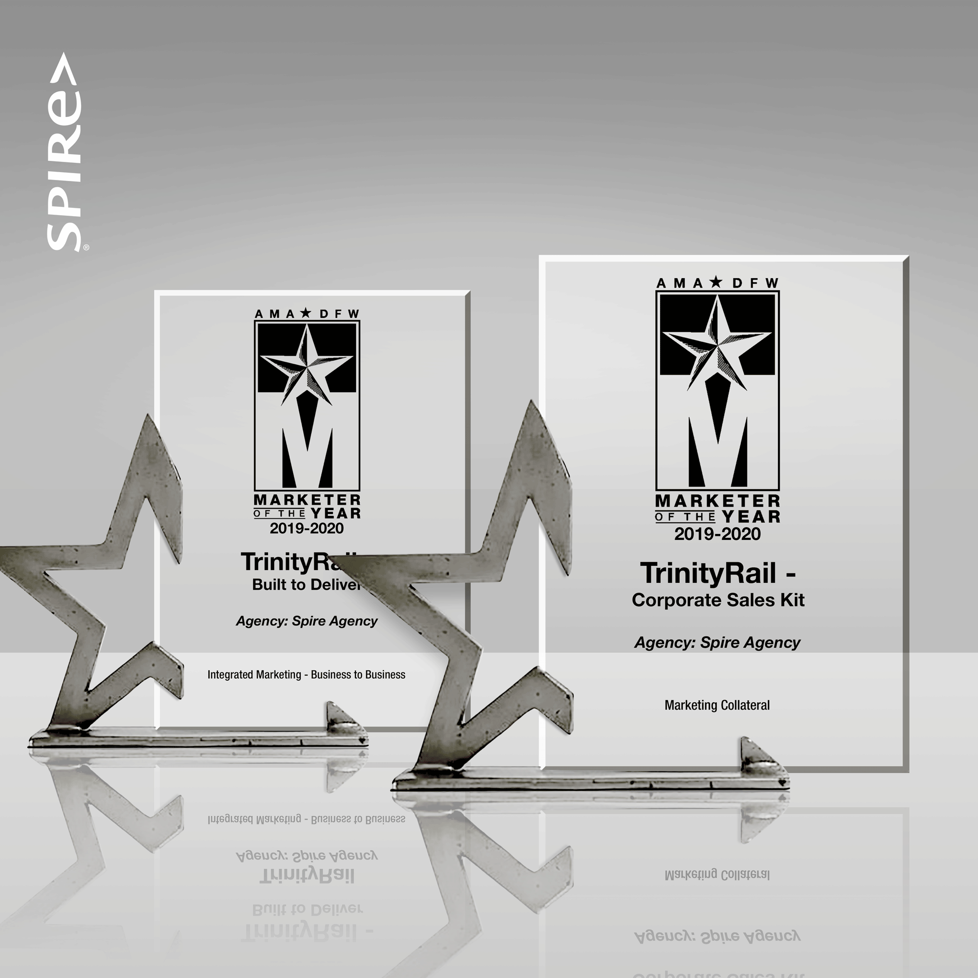 Spire Agency Awarded Two 2020 AMA DFW Marketer of the Year Awards