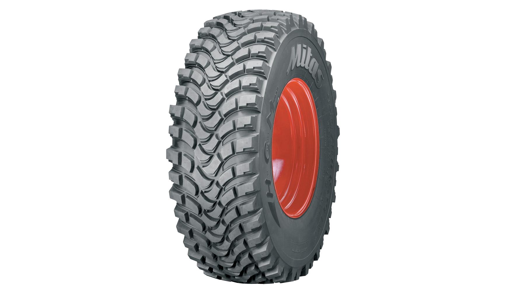 Mitas HCM tyres