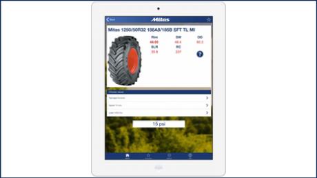 Mobilní aplikace Mitas pomůže nastavit správný tlak v pneumatikách
